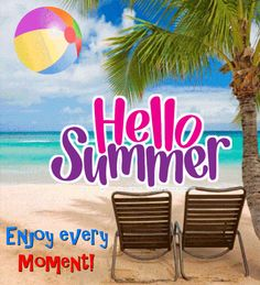 Say hello to summer and send everyone this summer ecard. Free online A Hello Summer Ecard For You ecards on Summer Hello Weekend, Hello Summer, Happy Summer, Say Hi, Say Hello, Seasons Months, Fairy Wallpaper, Happy December, My Wish For You