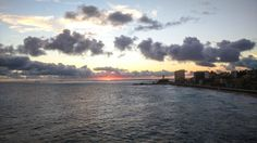 Pôr do sol, Farol da Barra, Salvador, Bahia.