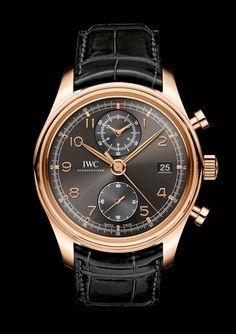 IWC Portuguese Chronograph Classic watch on www.presentwatch.com