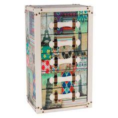 Sinffonier 5 Cajones Decoración Impresa http://www.artesaniadecoracion.com/tienda/Sinffonier-5-Cajones-Decoracion-Impresa.html