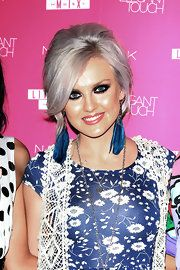 Perrie Edwards Graduated Bob