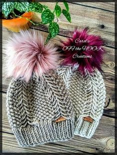 Ravelry: Braided Fishtail Beanie pattern by Carol's Off the Hook Creations Crochet Beanie Pattern, Knit Or Crochet, Crochet Patterns, Crochet Hats, Crochet Cable, Crochet Winter, Chunky Crochet, Crochet Ideas, Free Crochet