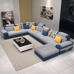 Amazing 39 Lovely Living Room Sofa Design Ideas For Cozy Home To Try Living Room Sofa Design, Living Room Interior, Living Room Designs, Living Rooms, Contemporary Living Room Furniture, Home Decor Furniture, Sofa Furniture, Luxury Furniture, Modern Furniture