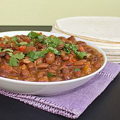 Mexican Chipotle Pinto Beans