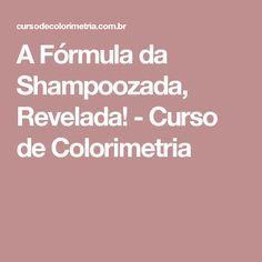 A Fórmula da Shampoozada, Revelada! - Curso de Colorimetria