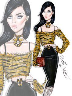 CELEBRITIES ☆ Katy Perry - 'Hear Her ROAR' - Illustration by Hayden Williams