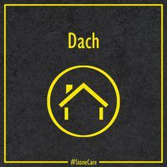 Hausfassaden und Dach - beides lässt sich einfach und nachhaltig reinigen und schützen. Dr. Stone beratet dich gerne, schreib uns einfach eine DM! Dm, Company Logo, Logos, House Facades, Cleaning, Simple, Logo