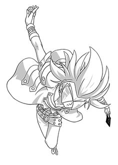 Gunz Lazar Bakugan Character Coloring Pages For Kids Printable Free