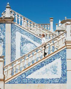 Visite de la ville de Faro en Algarve dans le sud du Portugal