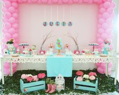 Enchanted Garden Party / Bird Theme / #babyshowerideas