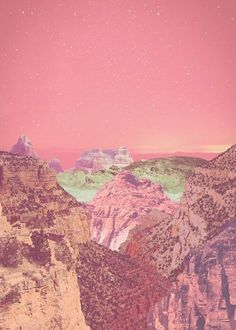 Acid rocks Indigo Sunshine sorta surreal art