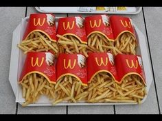 » McDonald's Fries Contain Silly Putty