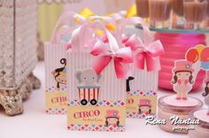 Circus First Birthday, Baby Girl 1st Birthday, Carnival Birthday Parties, First Birthday Parties, Birthday Party Themes, First Birthdays, Birthday Ideas, Circus Decorations, Circus Theme Party