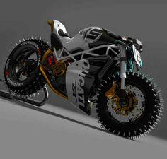 Paolo Tesio Maxim / Ducati Custom