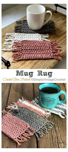 Blog Crochet, Crochet Home, Learn To Crochet, Free Crochet, Free Knitting, Knitting Ideas, Easy Things To Crochet, Free Easy Crochet Patterns, Crocheting Patterns