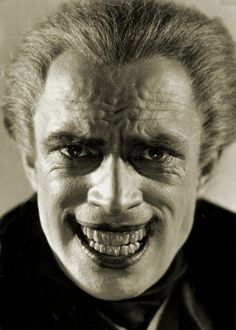 Conrad Veidt -The Man Who Laughs.  Original inspiration for the Joker