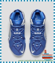 sneakers for cheap d195f 12670 inexpensive tenis de basket masculino nike lebron 12 azuis marinhos  profundos 684593 410 what if 35463