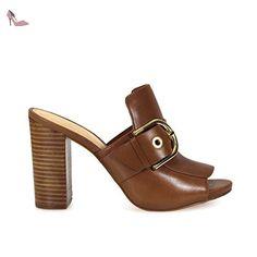 MICHAEL KORS SABOT COOPER MULE CUIR - Chaussures michael kors (*Partner-Link)