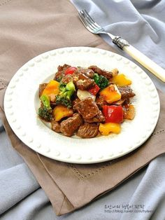 Pork, Beef, Cooking, Ethnic Recipes, Crack Crackers, Kale Stir Fry, Meat, Kitchen, Cuisine