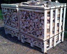 Irish Ash Firewood - 1 Cubic Metre Crate