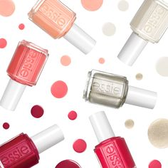 Kick up your heels this holiday season with the new essie winter 2014 collection.