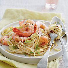 Shrimp Destin Linguine | MyRecipes.com