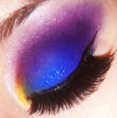 Intense pigments with a little sparkle.