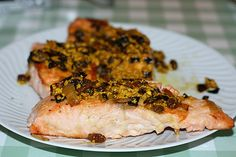 Salmone al Curry