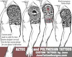 aztec tattoo, tribal tattoo, polynesian tattoo, samoan tattoo, tattoo templates, tattoo ideas, juno tattoo designs