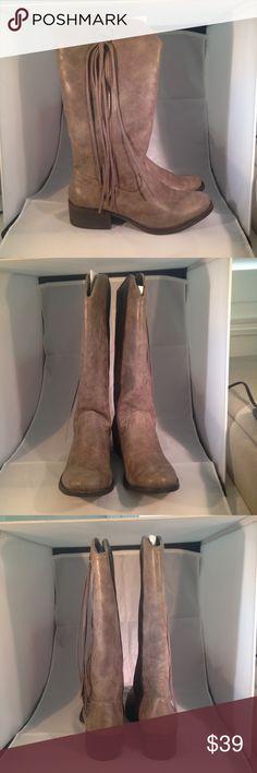 Madden Girl Vegan Gray Boots Madden Girl vegan cruelty free cowboy gray boots, NWB, never been worn. Madden Girl Shoes Combat & Moto Boots