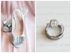 Wedding Inspiration, Wedding Details, Kate Spade Shoes, Diamond Engagement Ring, Pink, Stone Tower Winery Wedding, Candice Adelle Photography, VA Wedding