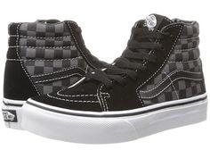 c74572e649 Vans Kids SK8-Hi (Little Kid Big Kid) (Checkerboard) Black