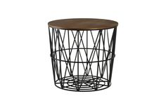 Room Essentials Storage Accent Table in Black at Target, $34.99