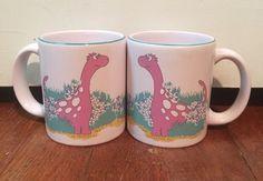 Set of 2 Waechtersbach Dinosaur Coffee Mugs Tea Cups | eBay