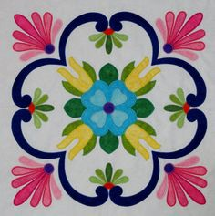 talavera fabric | Go to the Products page to purchase this design.