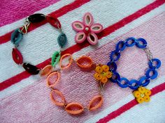 Quality Quilling: Quilled Bracelets!!! 10th post!