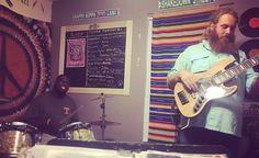 Band practice, tama drums, tama, Bass, Gibson guitars, Singer, Souljam, vocals, guitar, Luna guitars, Luna, kilted mermaid, Vero beach, Florida, tele, telecaster, fender, line 6 amp, fender amps, swr, jam in the van, Phish, Grateful Dead, pub, bar, decorations, craft beer, Grateful Dead, tedeschi trucks,