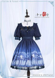 --> #LolitaUpdate: [-♥~♡-Fairies and Forest-♥~♡-] Series --> [-✂-Customizable-✂-]: http://www.my-lolita-dress.com/newly-added-lolita-items-this-week/imagine-and-spectacle-fairies-and-forest-series