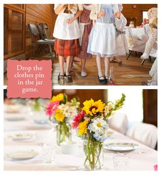 After seeing this wonderfully, simple American Girl Pioneer Party by Brittany at One Charming Party, I just had to share. This took me right back to my Little House on the Prairie phase! I love that each girl was transformed back in time with a bonnet and apron. Then they made bread and strawberry jam.…