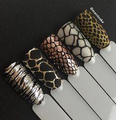 Luxury Nails – Great Make Up Ideas Classy Nail Designs, New Nail Designs, Gorgeous Nails, Pretty Nails, Tiger Nails, Leopard Print Nails, Animal Nail Art, Luxury Nails, Elegant Nails