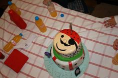 The pirate cake!