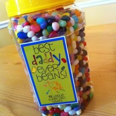 Best Dad Ever Beans {Free Printable}