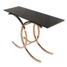 New Pacific Direct 6000003 Ignacio Console Table Black Gl Https