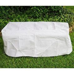 KoverRoos DuPont Tyvek White 3 Seat Bench / Glider Cover - 24207