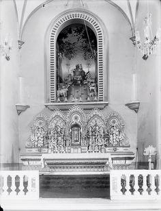 Iglesias de Caracas: Altar de la iglesia de San José, La Pastora (1900/06)
