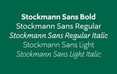Stockmann Sans on Behance