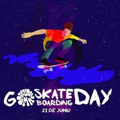 Más que un deporte, un estilo de vida. Feliz día del skateboarding #goskateboardingday en colaboración con nuestro amigo @muertetropical dedicado a nuestros panas patineteros ✌ #skateboard #longboard