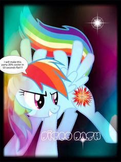 Adopted!!! Disco Dash has the power to cause ponies to party just by looking at them!!! My sister made this one!!!