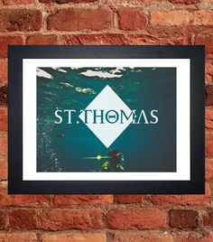 Items similar to St Thomas Snorkeling Print on Etsy St Thomas, Snorkeling, Saints, My Etsy Shop, Digital, Handmade Gifts, Vintage, Art, Diving