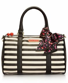 I want the floral! =) Betsey Johnson Macy's Exclusive Satchel